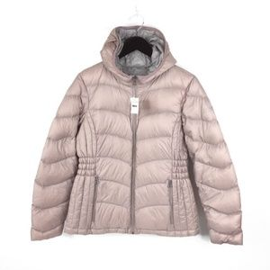 Lucky Brand Womens Medium Quilted Hooded Jacket